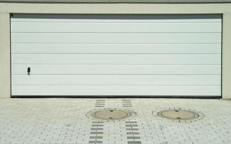 porte garage double dimension