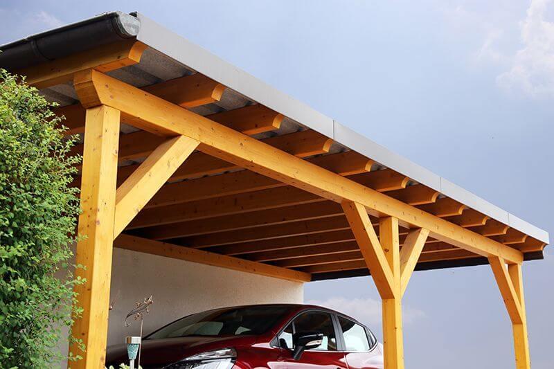 prix carport bois