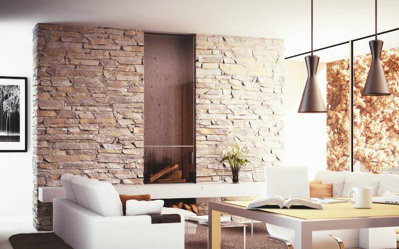 cout mur en pierres de parement