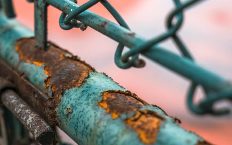 facteurs prix peinture garde-corps en métal