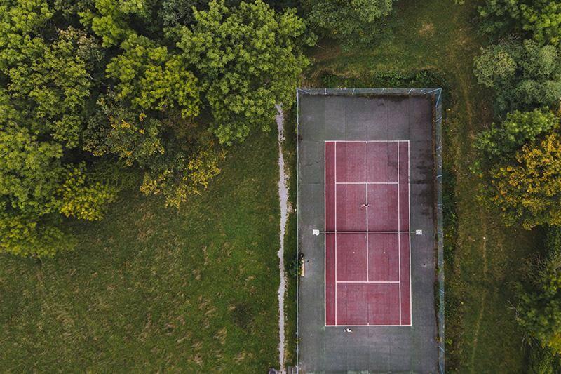 prix court de tennis