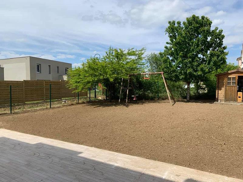 photo après rénovation pelouse