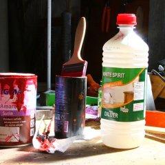 Remplacer le white spirit pour les travaux de peinture