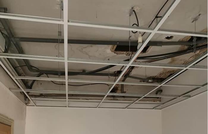 ossature metallique faux plafond