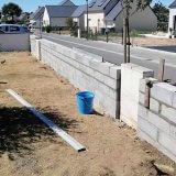 Prix d'un muret de clôture en parpaing