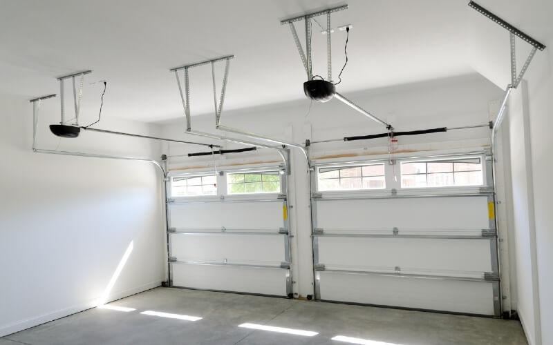 paramètres coûts motorisation porte de garage