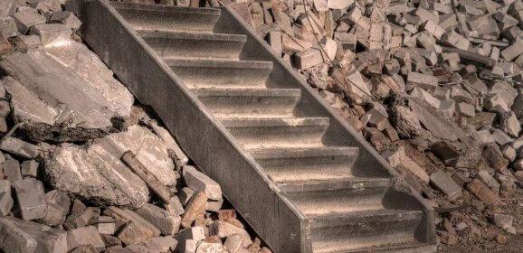 Prix de démolition d'un escalier