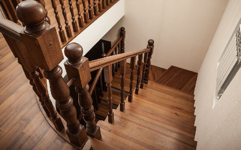 paramètres coûts escalier en bois