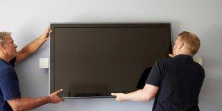 accrocher écran plat tv mur
