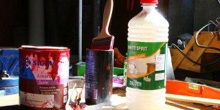 nettoyer le matériel de peinture sans white spirit