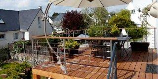 construire terrasse bois sur pilotis