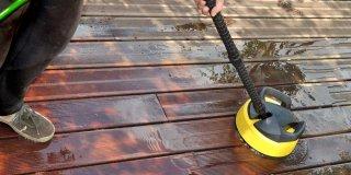comment nettoyer une terrasse bois
